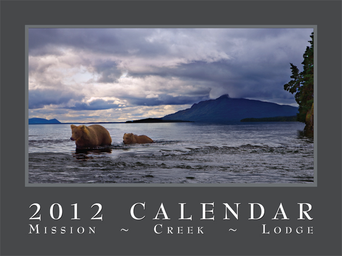 2012 Misssion Lodge calendar cover