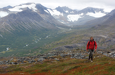 Hiking in Bristol Bay Alaska
