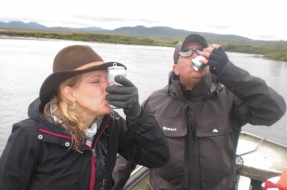 Shot gunning in Bristol Bay Alaska