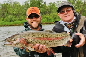 Trophy Rainbow Trout in Bristol Bay Alaska