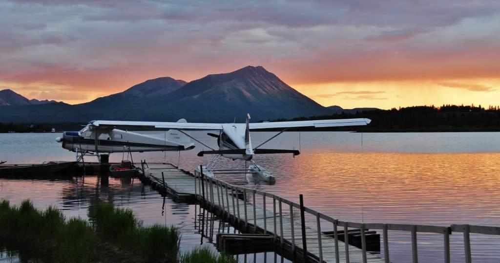 Sunrise on Lake Aleknagik